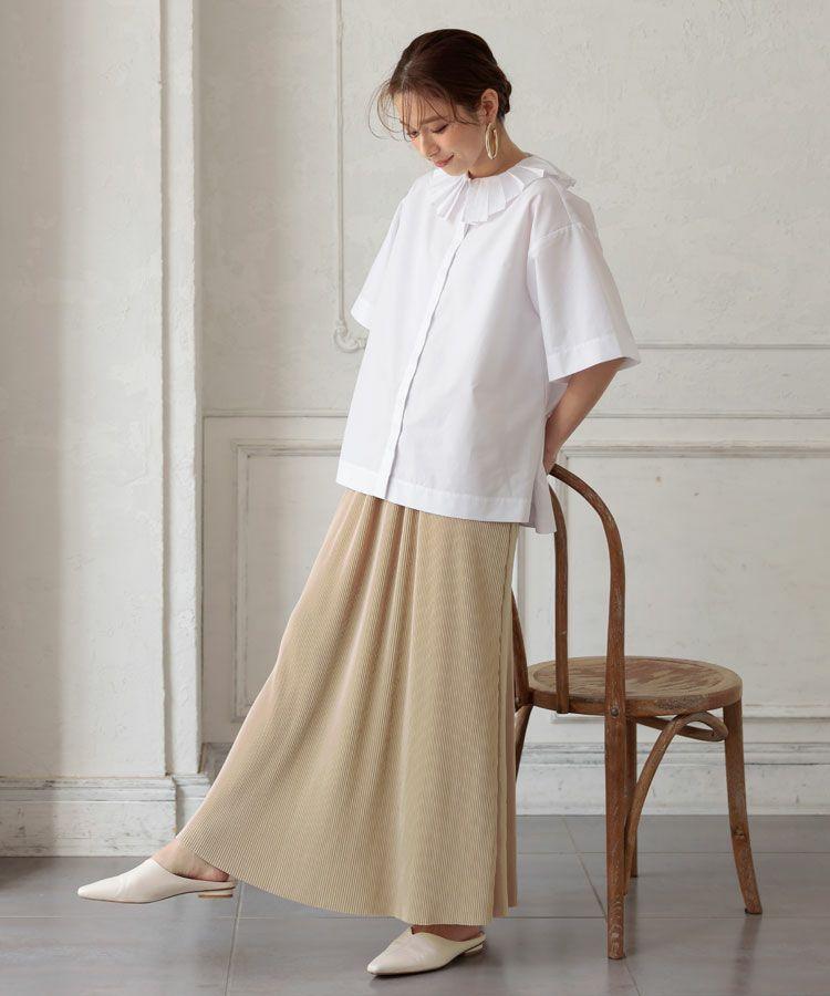 シャラプリーツスカート