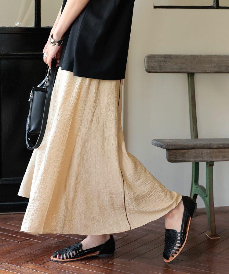 【C】楊柳パイピングスカート