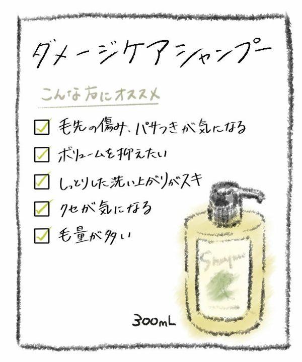 Damage care Shampoo 300mL